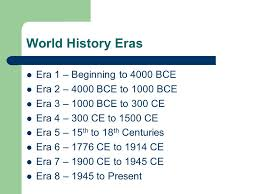 world history eras world history weaver era beginning to  10 world
