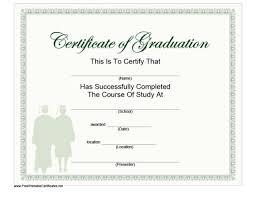 40 Graduation Certificate Templates Diplomas Printable Templates