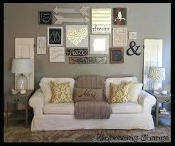 rustic wall decor ideas living room diy
