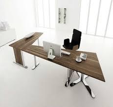 contemporary desks home office. Contemporary Desk Furniture Home Office Design White Lacquer Computer Black Laminate Table And Walnut Oak Mocca Comfortable Smaal Desks M