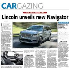 2018 lincoln brochure. contemporary lincoln 2018 lincoln navigator throughout lincoln brochure