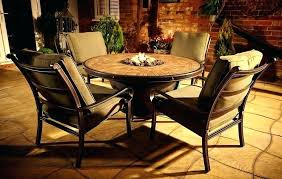 full size of outdoor dining table set with fire pit and chairs uk umbrella round patio