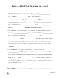 Fill, sign and send anytime, anywhere, from any device with pdffiller. Free Business Bill Of Sale Form Purchase Agreement Word Pdf Eforms