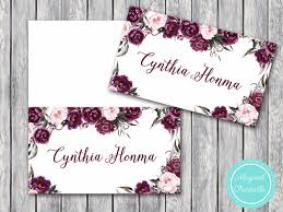 Wedding Name Printable Wedding Name Card Labels Wedding Place Cards