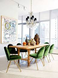 dining room with vine chairs and green upholstery by xjavierx on flickr