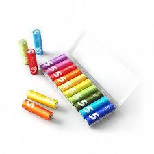 <b>Батарейки AAA Xiaomi</b> Rainbow 7 10шт   Techburo.ru - Интернет ...