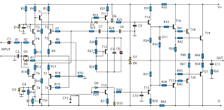 schematic diagram 500 watts amplifier the wiring diagram simple 500w audio power amplifier circuit diagram transistor wiring diagram