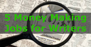 money making jobs for writers