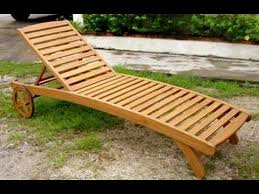 wood chaise lounge. Wood Chaise Lounge Chair~Design Plans For Chair - YouTube R