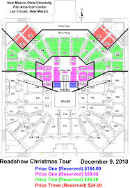 Pan Am Center Las Cruces Seating Chart The Roadshow Christmas Tour Rings In The Holiday Season