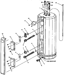 kenmore kenmore survivor electric water heater parts model find part by diagram >