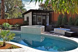 Pool House Designs Even The Smallest Gardens Can Contain A With Beautiful Design