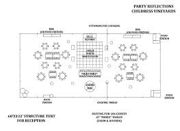 Wedding Diagram A Look At Planning A Wedding Reception Tent From Start To Finish