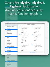 fx algebra solver on the app store ipad screenshot 2