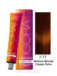 Schwarzkopf Igora Vibrance Gloss Tone Hair Color Select