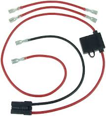 evo 800 electric scooter parts electricscooterparts com battery wiring harness for hoveround mpv5 at Battery Wiring Harness