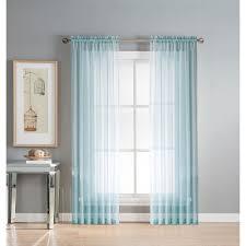 Wide Window Treatments window elements sheer diamond sheer 56 in w x 95 in l rod pocket 3805 by guidejewelry.us