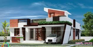Kerala Home Design One Floor Plan 1653 Sq Ft Contemporary One Floor House Kerala Home Design