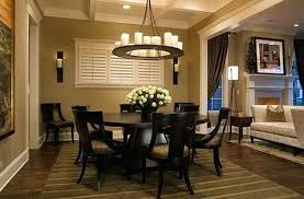 how to choose the best rug shape for your space furniture charming all black round dining