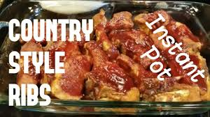 country style ribs in the instant pot quick easy and delicious portable electric pressure cooker