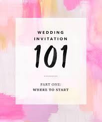 wedding invitation 101 where to start How To Start A Wedding Invitation How To Start A Wedding Invitation #32 start a wedding invitation business