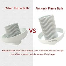 Fimitech Flame Light Bulbs Flame Light Bulbs Fimitech Led Flame Effect Fire Light Bulbs 4 Modes E26