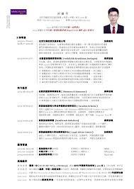 CV Allen LIU 中文 Custom Resume 中文