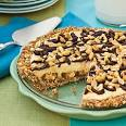 Snickers candy bar pie