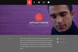 Online Resume Website Templates Websites Magnificent Creator