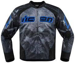 icon overlord reaver jackets textile blue official icon leather jacket huge