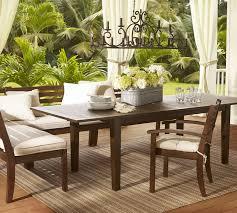 chesapeake rectangular extending dining table pottery barn in pottery barn dining room table