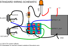 switching mechanical switches standard wiring diagrams th th custom effects standard wiring schematic