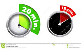 Minute Timers 10 And 20 Minutes Timer Stock Vector Illustration Of Object 21771890