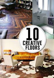 10 creative diy flooring ideas