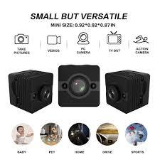 Amazoncom Mini Spy Camera Hidden Cam Waterproof 1080p Full Hd