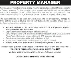 Commercial Real Estate Assistant Property Manager Job Description ...