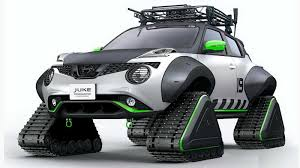 Nissan Juke snowmobile heading to Tokyo Auto Salon with more ...