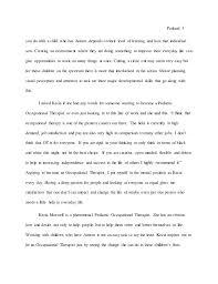 Example Of A Profile Essay Dew Drops