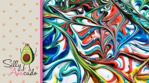 How To Make Marbled Paper W Shaving Cream Make Your Own