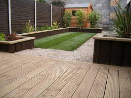 Extraordinary Decking Designs For Small Gardens With Additional Cool Decking Designs For Small Gardens Design