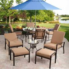 Patio fascinating outdoor patio furniture sets brown square