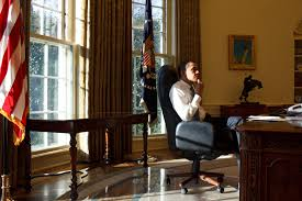 recreating oval office. \u201cPresident Barack Obama Sits In The Oval Office On His First Day Office, Jan. 21, 2009.\u201d Recreating R