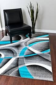 persian area rugs 8x11 2305 turquoise white swirls 7 10 x10 6 modern abstract area rug