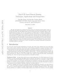 (PDF) <b>Mini</b>-<b>UAV</b>-based <b>Remote</b> Sensing: Techniques, Applications ...