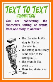 best making connections comprehension strategy images on  text to self connections google search