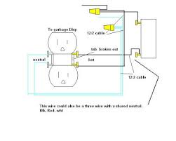 wiring a garbage disposal diagram wiring image disposal plug problems on wiring a garbage disposal diagram