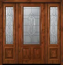 wood exterior door fiberglass entry