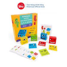 Báo giá Đồ chơi trẻ em thông minh bộ Xếp hình biểu cảm mặt bằng gỗ  Montessori cho bé 3 tuổi, board game tương tác rèn tư duy chỉ 175.000₫