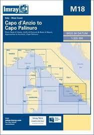 Pdf Imray Chart M18 Capo Danzio To Capo Palinuro Download