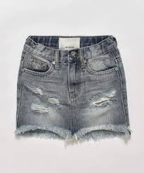 One Teaspoon Clothing Size Chart Oneteaspoon Kids 2020 High Waist Denim Skirt Size 7 8y